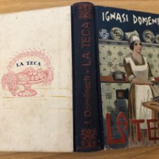 Libros antiguos: LA TECA. 1 EDICIÓN IGNASI DOMENECH. CUINA. GASTRONOMÍA. Lote 177047834