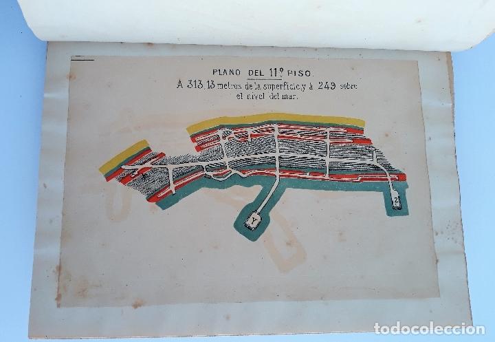 Libros antiguos: ESTUDIO CLINICO DE LAS ENFERMEDADES QUE PADECEN LOS OBREROS DE LAS MINAS DE ALMADEN. 1888. raro W - Foto 4 - 177177798