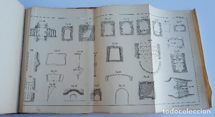 Libros antiguos: ELEMENTOS DE LABOREO DE MINAS. GINES MONCADA Y FERRO. 2º EDICION 1902. CONTIENE LAMINAS. W - Foto 4 - 177178523