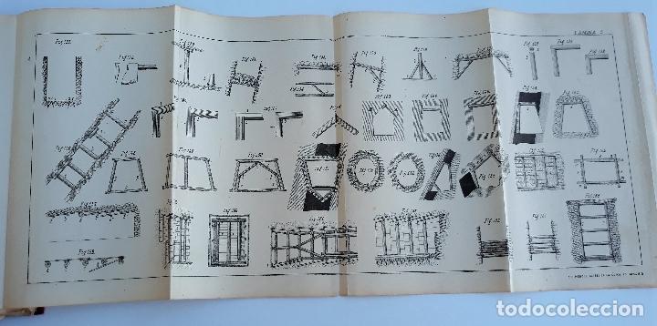 Libros antiguos: ELEMENTOS DE LABOREO DE MINAS. GINES MONCADA Y FERRO. 2º EDICION 1902. CONTIENE LAMINAS. W - Foto 5 - 177178523