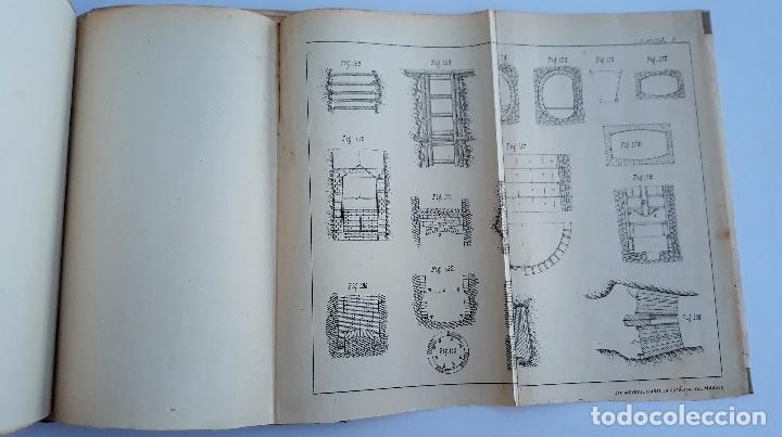 Libros antiguos: ELEMENTOS DE LABOREO DE MINAS. CONTIENE LAMINAS. W - Foto 4 - 177179178