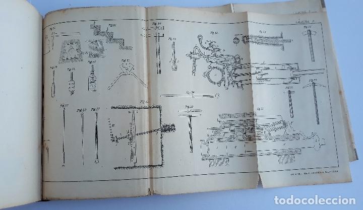 Libros antiguos: ELEMENTOS DE LABOREO DE MINAS. CONTIENE LAMINAS. W - Foto 5 - 177179178