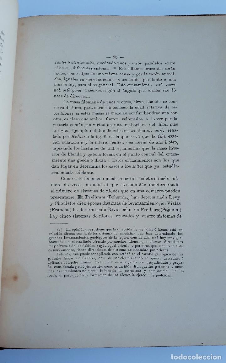 Libros antiguos: LABOREO DE MINAS, MANUEL MALO DE MOLINA. 2 TOMOS. TEXTO. 1889. W - Foto 2 - 177179440