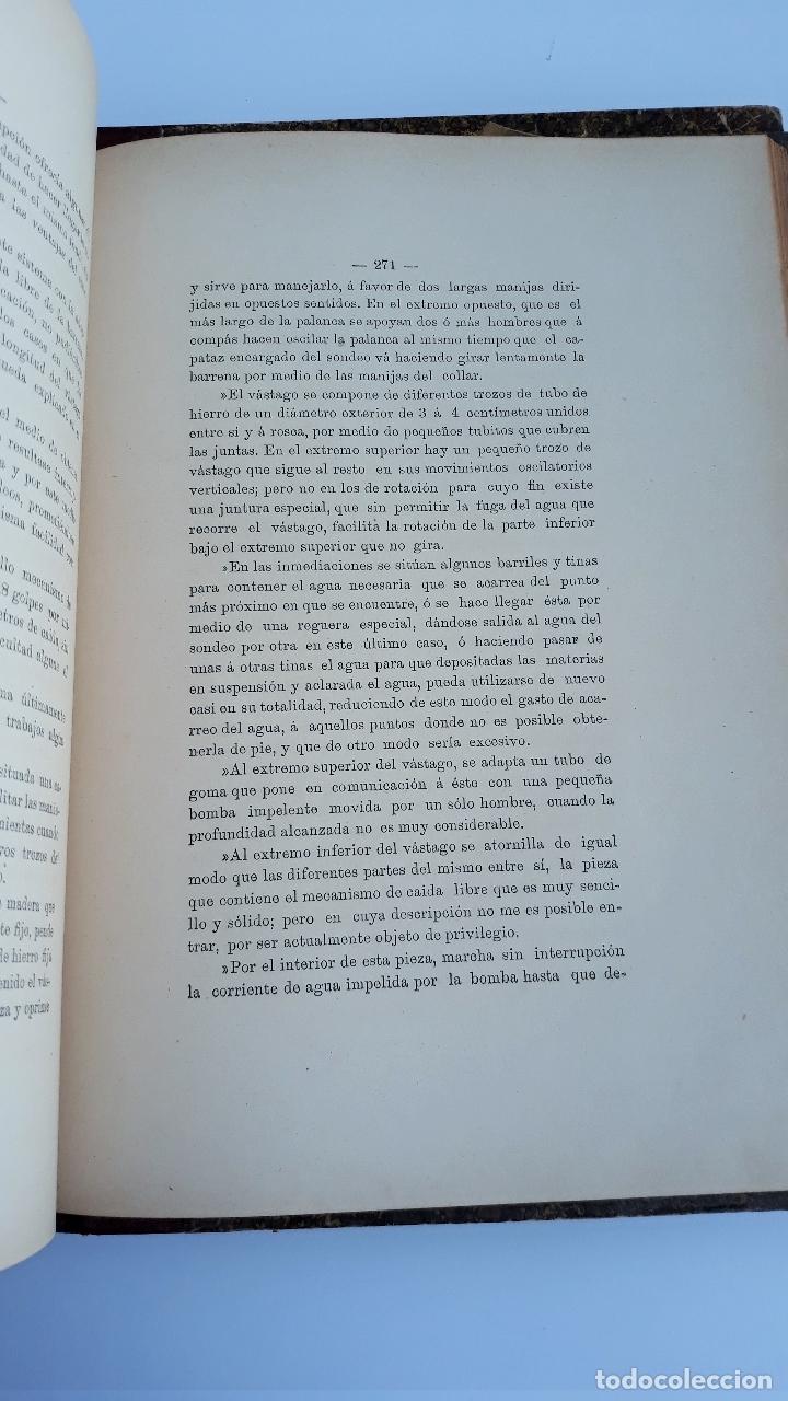 Libros antiguos: LABOREO DE MINAS, MANUEL MALO DE MOLINA. 2 TOMOS. TEXTO. 1889. W - Foto 3 - 177179440