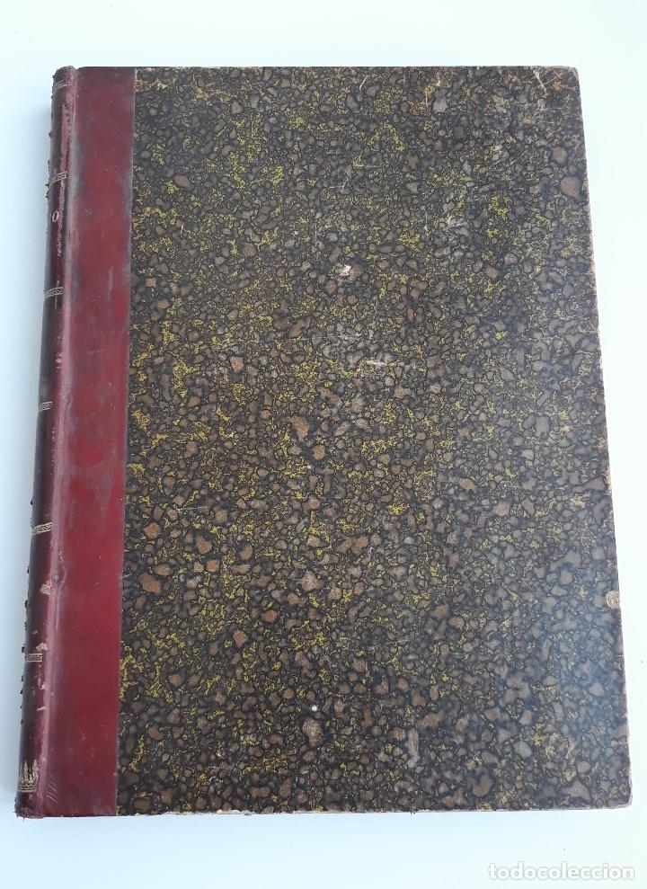 Libros antiguos: LABOREO DE MINAS, MANUEL MALO DE MOLINA. 2 TOMOS. TEXTO. 1889. W - Foto 6 - 177179440