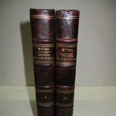 Libros antiguos: TRATADO ÚNICO Y SINGULAR DEL ORIGEN DE LOS INDIOS DEL PERÚ, MÉJICO, SANTA FE Y CHILE. 1891.. Lote 177181685