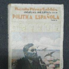 Libros antiguos: POLITICA ESPAÑOLA...1923. Lote 177208065