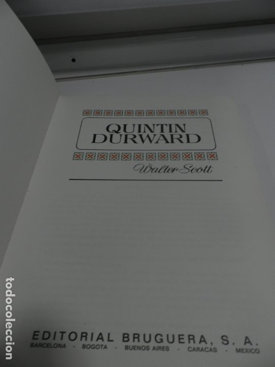 Libros antiguos: JOYAS LITERARIAS COLECCION HISTORIAS COLOR Nº 13 LIBRO DE 124 PAGINAS QUINTIN DURWARD - WALTER SCOTT - Foto 3 - 177318064