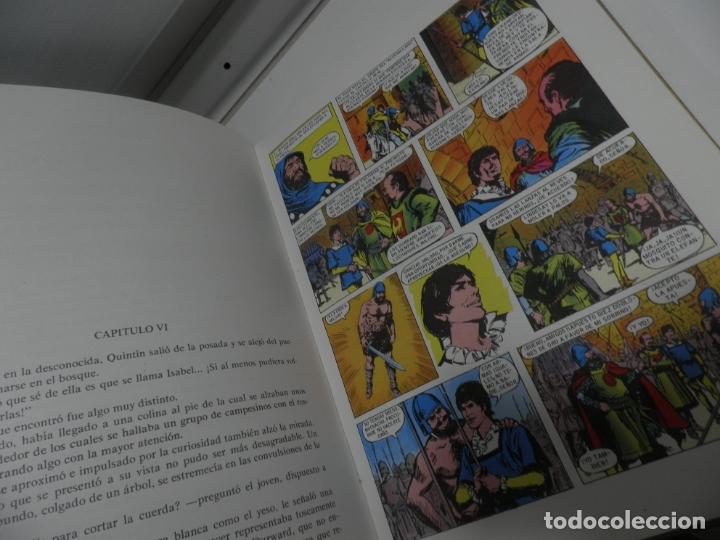 Libros antiguos: JOYAS LITERARIAS COLECCION HISTORIAS COLOR Nº 13 LIBRO DE 124 PAGINAS QUINTIN DURWARD - WALTER SCOTT - Foto 4 - 177318064