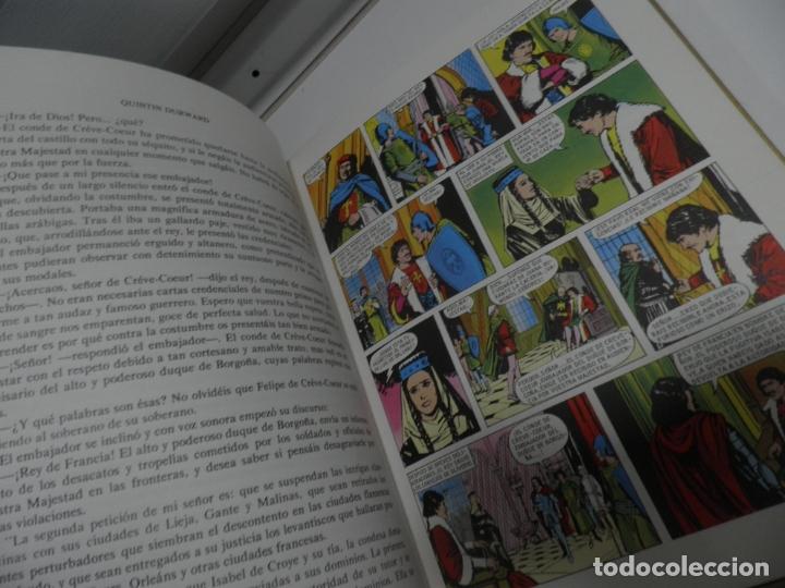Libros antiguos: JOYAS LITERARIAS COLECCION HISTORIAS COLOR Nº 13 LIBRO DE 124 PAGINAS QUINTIN DURWARD - WALTER SCOTT - Foto 5 - 177318064
