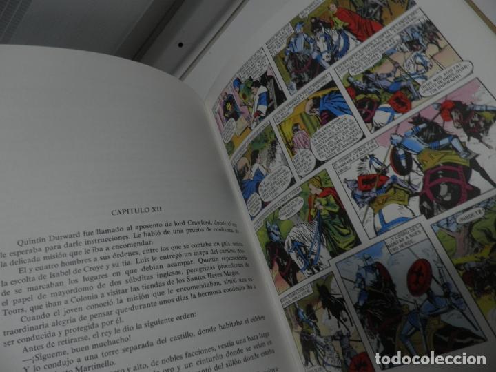 Libros antiguos: JOYAS LITERARIAS COLECCION HISTORIAS COLOR Nº 13 LIBRO DE 124 PAGINAS QUINTIN DURWARD - WALTER SCOTT - Foto 6 - 177318064