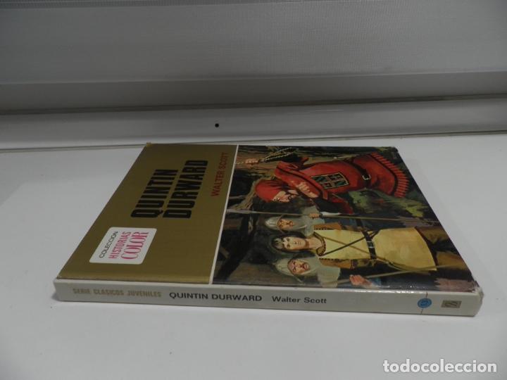 Libros antiguos: JOYAS LITERARIAS COLECCION HISTORIAS COLOR Nº 13 LIBRO DE 124 PAGINAS QUINTIN DURWARD - WALTER SCOTT - Foto 11 - 177318064