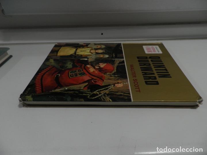 Libros antiguos: JOYAS LITERARIAS COLECCION HISTORIAS COLOR Nº 13 LIBRO DE 124 PAGINAS QUINTIN DURWARD - WALTER SCOTT - Foto 16 - 177318064