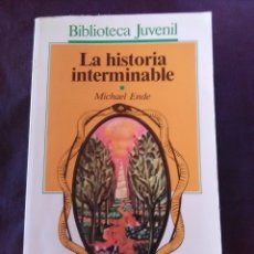 Libros antiguos: LA HISTORIA INTERMINABLE- MICHAEL ENDE.. Lote 177387399