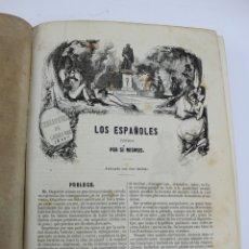 Libros antiguos: L-2932. LOS ESPAÑOLES PINTADOS POR SI MISMOS. LIBRERIA DE GASPAR Y ROIG. 1843.. Lote 177395733