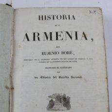 Libros antiguos: L-5436. HISTORIA DE ARMENIA ,EUJENIO BORE / HISTORIA DE CHILE,M.CESAR FAMIN,1838-39. CON 60 LÁMINAS. Lote 177405428