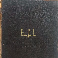 Libros antiguos: FEDERICO GARCIA LORCA. OBRAS COMPLETAS. Lote 177562312