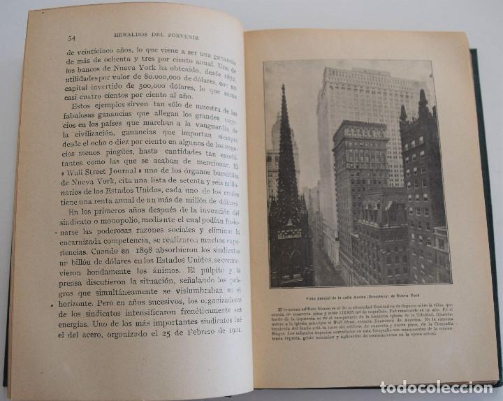 Libros antiguos: HERALDOS DEL PORVENIR - POR ASA OSCAR TAIT - SOCIEDAD INTERNACIONAL DE TRATADOS 1919 - Foto 4 - 177588335