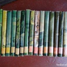 Libros antiguos: 18 TOMOS SALGARI EDITORIAL MOLINO 1955 DESDE EL Nº 1 ESTE LOTE CONTIENE LOS NÚMEROS 1 . 2 . 3 . 4 .. Lote 177589490