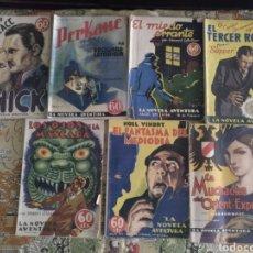 Libros antiguos: LOTE LA NOVELA AVENTURA. 1935. Lote 177636414