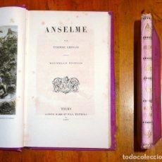 Libros antiguos: GERVAIS, ÉTIENNE. ANSELME. - NOUVELLE ÉDITION. - 1872. Lote 177643522