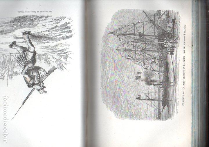 Libros antiguos: LOS HÉROES Y LAS GRANDEZAS DE LA TIERRA (1854) - 9 TOMOS - OBRA COMPLETA - NUMEROSOS GRABADOS - Foto 4 - 177649373