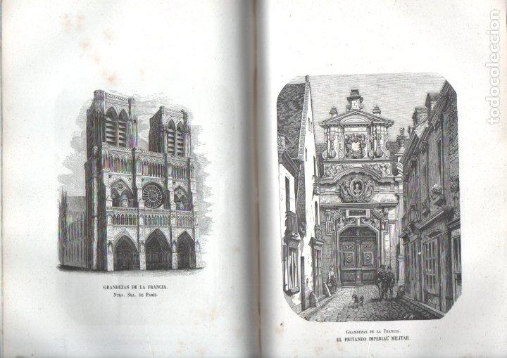 Libros antiguos: LOS HÉROES Y LAS GRANDEZAS DE LA TIERRA (1854) - 9 TOMOS - OBRA COMPLETA - NUMEROSOS GRABADOS - Foto 5 - 177649373