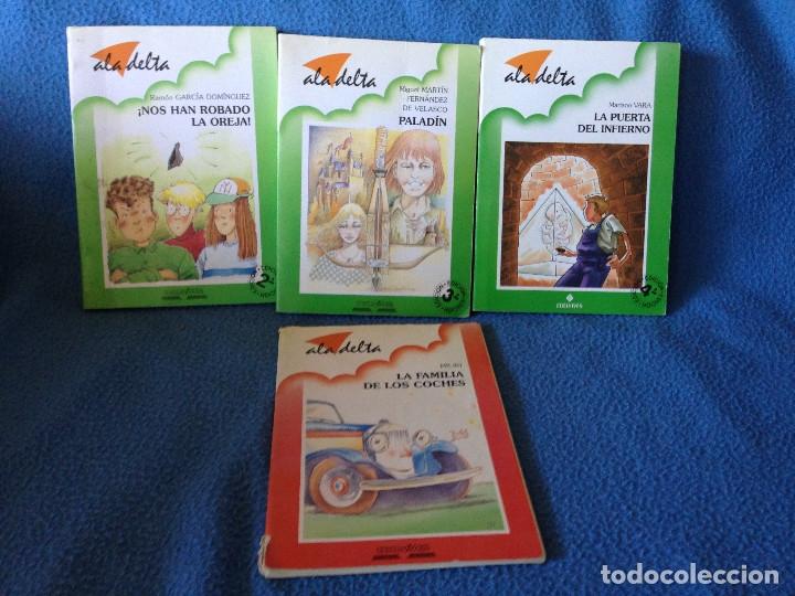 LOTE DE 4 LIBROS ALA DELTA.ADELVIVES. (Libros Antiguos, Raros y Curiosos - Literatura Infantil y Juvenil - Otros)