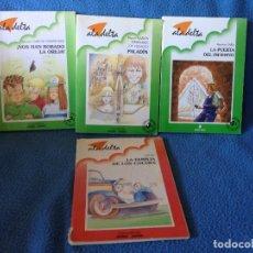 Libros antiguos: LOTE DE 4 LIBROS ALA DELTA.ADELVIVES.. Lote 177661088