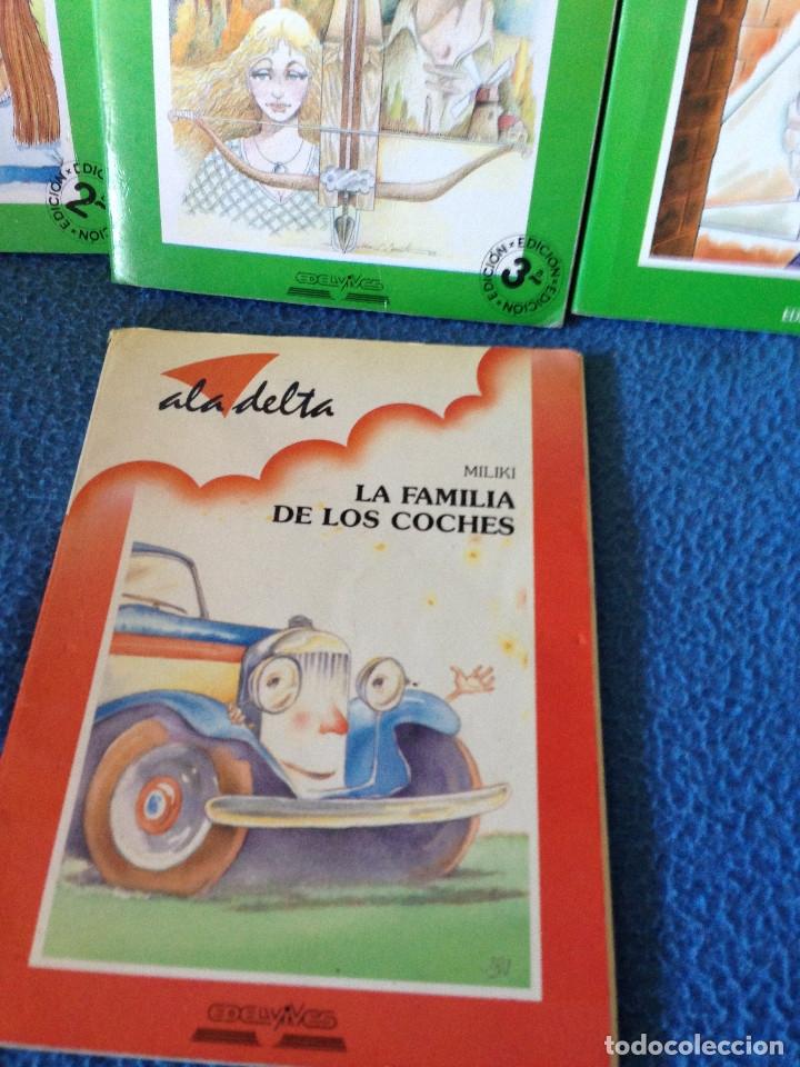 Libros antiguos: LOTE DE 4 LIBROS ala delta.ADELVIVES. - Foto 2 - 177661088