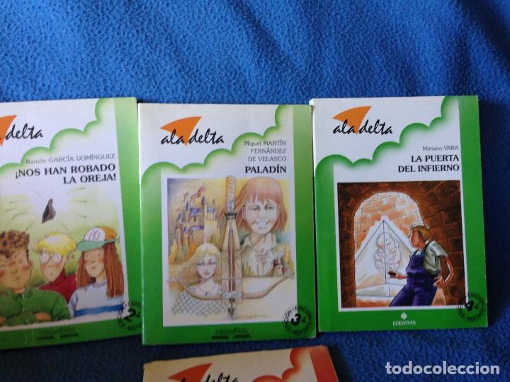 Libros antiguos: LOTE DE 4 LIBROS ala delta.ADELVIVES. - Foto 3 - 177661088