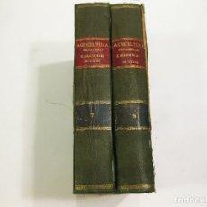 Libros antiguos: TOMOS 7 Y 8 DEL DICCIONARIO ENCICLOPÉDICO DE AGRICULTURA. MADRID, 1889. . Lote 177667325