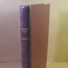 Libros antiguos: ZOOLOGIA, CURSO ELEMENTAL DE HISTORIA NATURAL - ORESTES CENDRERO - 1932. Lote 177678807