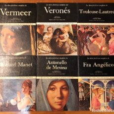 Libros antiguos: CLASICOS DEL ARTE-NOGUER RIZZOLI.EDITORES-6VOLS(16€/UND)(96€). Lote 177680270