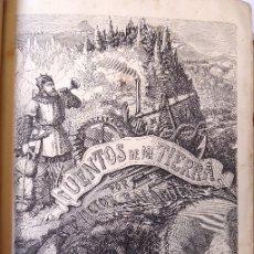 Libros antiguos: L-5433. CUENTOS DE MI TIERRA. POR DON VICTOR BALAGUER. TOMO PRIMERO. MANERO, EDITOR. BARCELONA 1866.. Lote 177689174