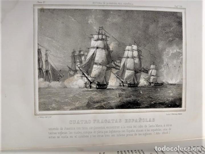 Libros antiguos: HISTORIA DE LA MARINA REAL ESPAÑOLA. D. JOSE MARCH Y LABORES 1854-1856 - Foto 13 - 40715989