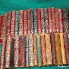 Libros antiguos: 36 LIBROS COLECCION CRISOL .EDITORIAL AGUILAR.. Lote 177889587