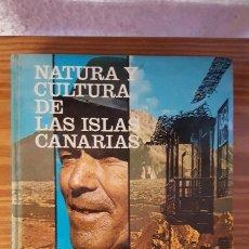 Libros antiguos: NATURA Y CULTURA DE LAS ISLAS CANARIAS - PEDRO HERNÁNDEZ HERNÁNDEZ - 1978. Lote 177949712