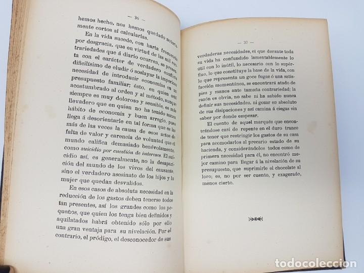 Libros antiguos: EL AHORRO EN ESPAÑA, NOCIONES ,VULGARIZACION, VIRTUD SOCIAL ( 1912 ) COMPAÑIA TRANSATLANTICA - Foto 8 - 178046089