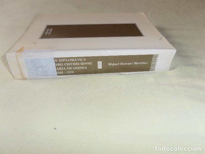 Libros antiguos: COLECCIÓN DIPLOMÁTICA DO MOSTEIRO CISTERCIENSE DE STA. MARÍA DE OSEIRA (OURENSE) VOL 1 - Foto 8 - 178148680