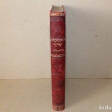 Libros antiguos: LECCIONES DE LITERATURA: 1ª PRECEPTIVA GENERAL Y 2ª GENEROS LITERARIOS. NAVARRO Y LEDESMA. 1901/00. Lote 178194065