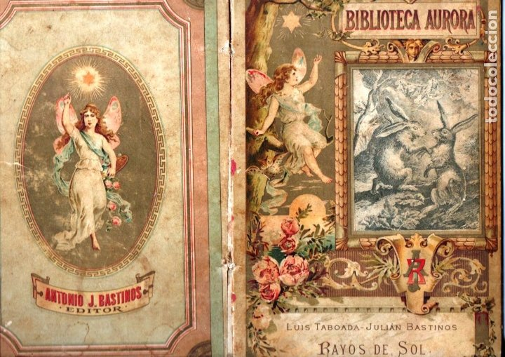 LUIS TABOADA Y JUAN BASTINOS : RAYOS DE SOL (BASTINOS, 1892) (Libros Antiguos, Raros y Curiosos - Literatura Infantil y Juvenil - Otros)
