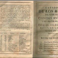 Libros antiguos: REYES DE ARAGON 1680=ZARAGOZA,BARCELONA,LERIDA,TARRAGONA,GERONA,LUIS DE EXEA,JUAN DE EXEA..VER FOTOS. Lote 178293097