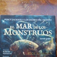 Libros antiguos: EL MAR DE LOS MONSTRUOS RICK RIORDAN. Lote 178357976