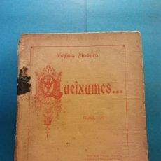 Livros antigos: QUEIXUMES. SONETOS. 1922. VIRGINIA MADEIRA. HENRIQUE TORRES EDITOR. Lote 178445158