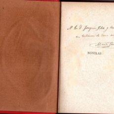 Libros antiguos: M. GENIS - NOVELAS - SOTA UN TAROT, LA MERCÉ DE BELLAMATA,.. DEDICAT A JOAQUIM FOLCH I TORRES. Lote 178602712
