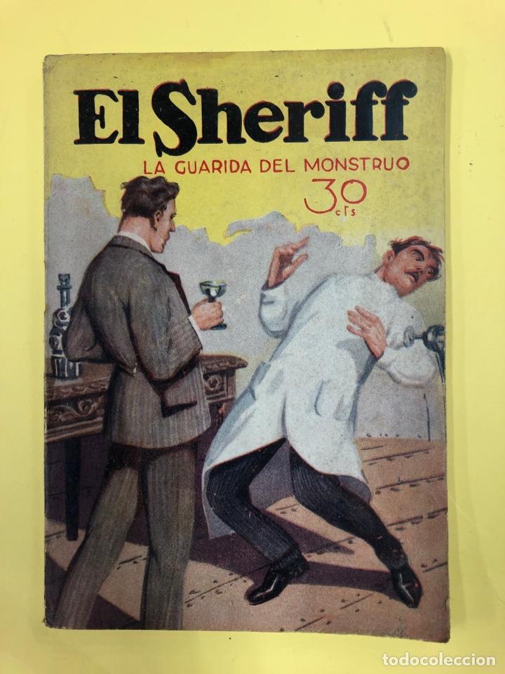 EL SHERIFF - LA GUARIDA DEL MONSTRUO - Nº 236 - NOVIEMBRE 1933 - EDICIONES FENIX (Libros antiguos (hasta 1936), raros y curiosos - Literatura - Narrativa - Otros)