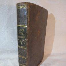 Libros antiguos: ANTIGUO Y RARO LIBRO TRATADO SOBRE EL JUEGO.NUEVO ARTE DE JUGAR A LA LOTERÍA.ILDEFONSO MOMPIÉ.1830.. Lote 178631500