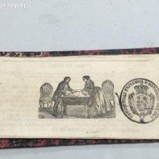Libros antiguos: INTERESANTE LIBRO DE SANTIAGO ORTEGA- LIBRO DE CORTE TRAJES.. Lote 178637178