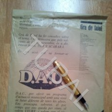 Libros antiguos: TUBAL GRA DE FAJOL 9 1983 REVISTA CONTRACULTURAL OLOT SIN ABRIR EN SU SOBRE ORIGINAL H1. Lote 178678276